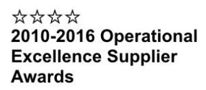 Four Star Operational Excellence Supplier Award